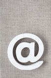 Emaila symbolu interneta ikona Fotografia Royalty Free