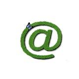 emaila trawy symbol Zdjęcia Royalty Free