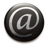 Emaila zawody międzynarodowi znak Obrazy Stock