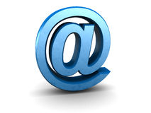 emaila znak Obrazy Stock