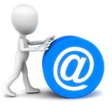 Emailen Sie Kommunikation lizenzfreie abbildung