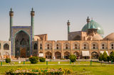 Emam Mosque - Esfahan Royalty Free Stock Photo