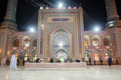 Emamzade Saleh Holy Shrine. Night View of  Emamzade Saleh Holy Shrine Stock Image
