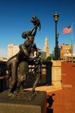 Emancipatie, Hartford Connecticut royalty-vrije stock foto's