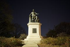 Emancipation Memorial - Lincoln Park Royalty Free Stock Photography