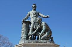 Emancypacyjny pomnik - Lincoln park zdjęcia stock