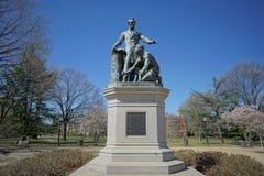 Emancypacyjny pomnik - Lincoln park fotografia royalty free