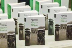 Emanuel Tanjala böcker Royaltyfri Fotografi