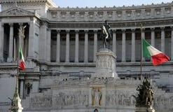 Emanuele ΙΙ vittorio μνημείων Στοκ φωτογραφίες με δικαίωμα ελεύθερης χρήσης