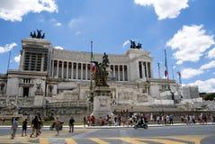 Emanuele ΙΙ vittorio της Ρώμης μνημείων Στοκ εικόνες με δικαίωμα ελεύθερης χρήσης