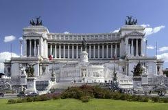 emanuele ・意大利纪念碑罗马vittorio 免版税库存照片
