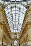 emanuele galerii ii Italy Milan vittorio Zdjęcie Stock