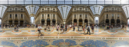 emanuele galerii ii Milan vittorio Obraz Royalty Free