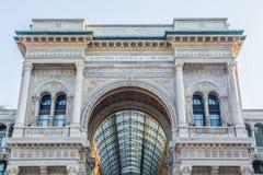 emanuele galerii Milan vittorio Obrazy Stock