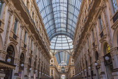 emanuele galerii Milan vittorio Obrazy Royalty Free
