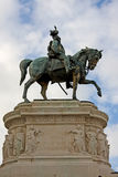 emanuele ii itlay rome statyvittorio fotografering för bildbyråer