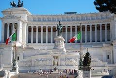 emanuele ii zabytku Rome vittorio Obrazy Royalty Free