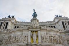 emanuele monumentovittorio Arkivbilder