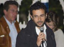 Emanuele scagliusi italian politic 5 stars Royalty Free Stock Photos