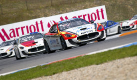Emanuele Smurra in action at FIA WTCC Trofeo GranT Stock Photography