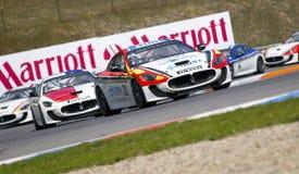 Emanuele Smurra nell'azione alla FIA WTCC Trofeo GranT Fotografia Stock