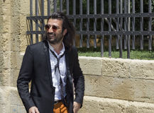Emanuele spedicato guitarist negramaro Stock Images