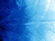 Emaranhado azul profundo ilustração royalty free