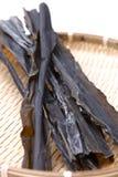 Emaranhado de mar secado para o estoque de sopa japonês Imagem de Stock Royalty Free