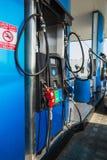Emarat加油站在沙扎市 免版税库存照片