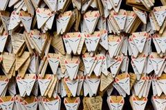 EMAS que representa zorros Imagen de archivo