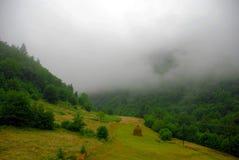 Embaçamento nas montanhas Foto de Stock