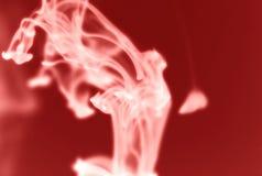Embaçamento vermelho da tinta Fotografia de Stock Royalty Free