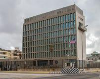 A embaixada americana em Cuba imagem de stock royalty free