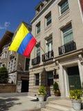 Embaixada de Colômbia no Washington DC Foto de Stock Royalty Free