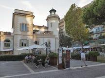 Embaixada do restaurante na casa de campo Cacciaguerra Rimini, Itália imagens de stock