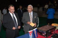 Embaixador de Cuba e presidente Cabo Verde Fotos de Stock Royalty Free
