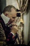Embaixador italiano Cesare Maria Ragalini do estilista de Vyacheslav Zaitsev Foto de Stock