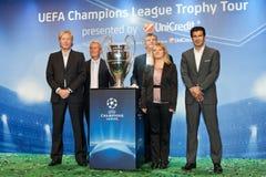 Embaixadores UEFA Fotografia de Stock Royalty Free