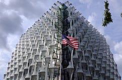 Embajada de Estados Unidos foto de archivo libre de regalías