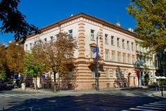 Embajada de Francia en Zagreb foto de archivo libre de regalías