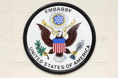Embajada de los E.E.U.U. Foto de archivo