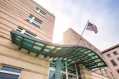 Embajada de los Estados Unidos de América Berlín Alemania Fotografía de archivo
