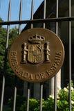 Embajada española en Berlín fotos de archivo libres de regalías