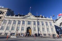 Embajada francesa foto de archivo