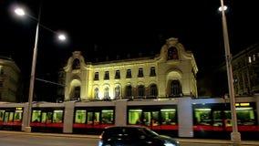 Embajada francesa en Viena, Austria almacen de video