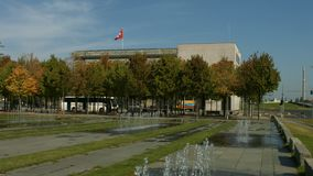 Embajada suiza en Berlín almacen de video