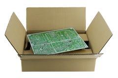 Embalagem para a placa de circuito Imagem de Stock Royalty Free