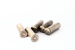 38 embalagens especiais do shell isoladas no fundo branco Imagens de Stock Royalty Free