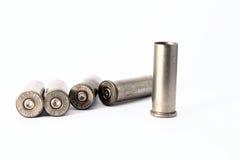 38 embalagens especiais do shell isoladas no fundo branco Foto de Stock Royalty Free