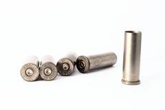 38 embalagens especiais do shell isoladas no fundo branco Fotografia de Stock